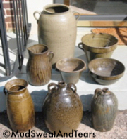 collection of Southern Pottery